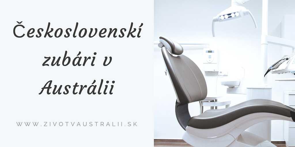 Československí zubári v Austrálii-2018